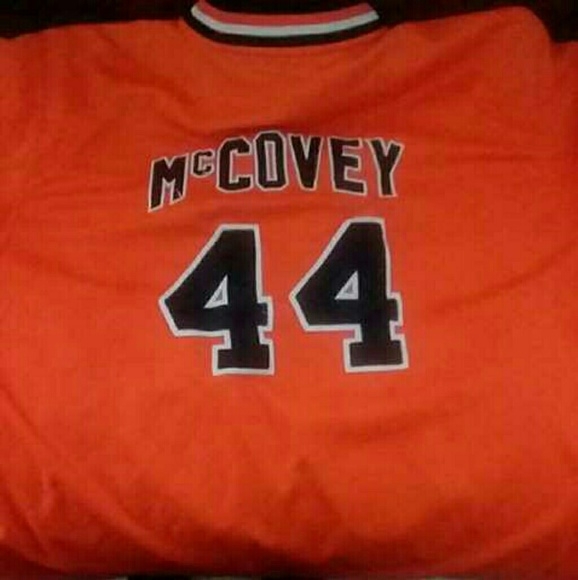 half off 3b3b2 a75e2 1977 San Francisco Giants Willie McCovey Jersey